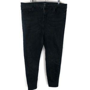 5 for $30 Forever 21+ Black Jeggings Plus Size 18